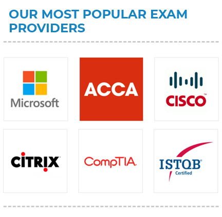providers of professional exams dublin